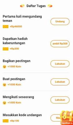 daftar tugas di aplikasi hello
