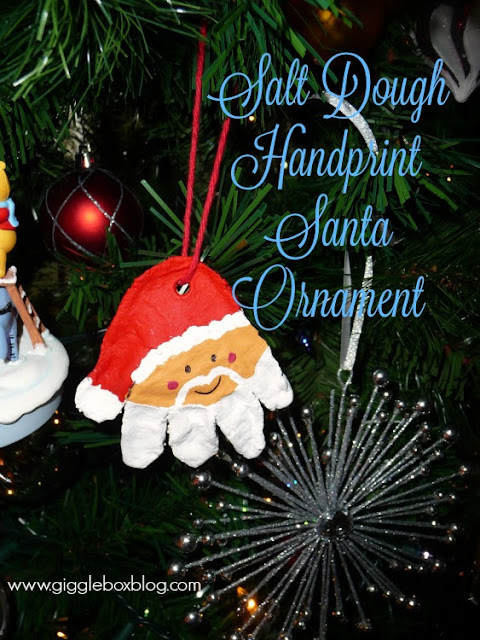 a fun Christmas ornament to make with the kids for gifts, salt dough Christmas ornament,