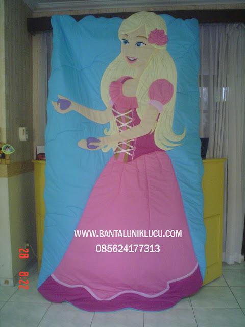 bed cover karakter kartun