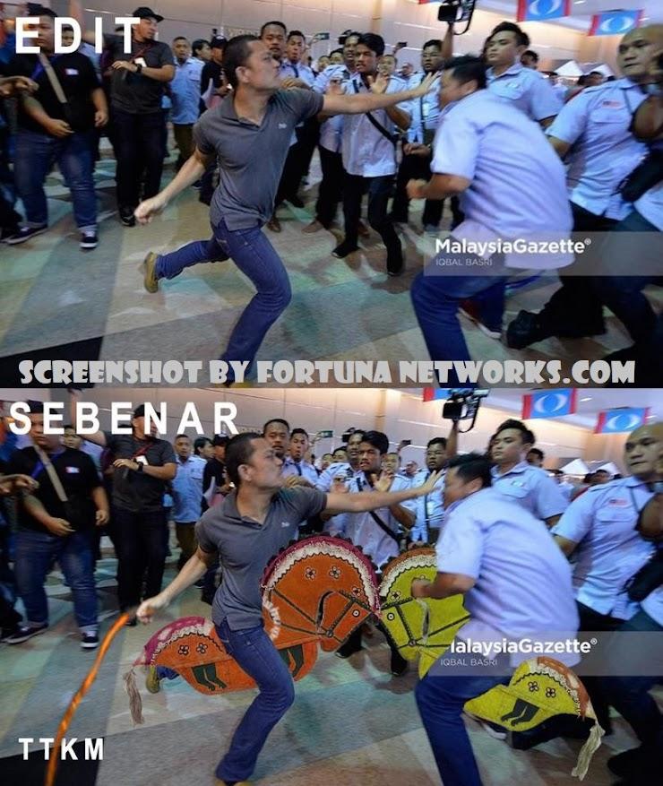 "#KongresAMKAyerKerohMelaka ""Bukan Perkara Baru Insiden Wrestling Sesama Anggota PKR"""