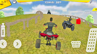 ATV Bike vs ATV Bike Simulator Racing Game