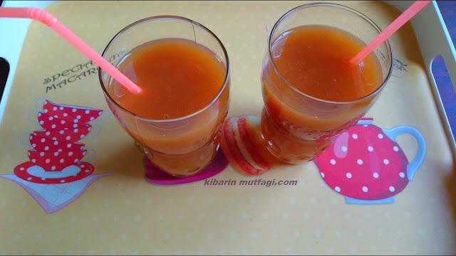 Çoçuklar için yapabileceğiniz kolay, pratik ve sağlıklı ev yapımı şeftali suyu tarifi