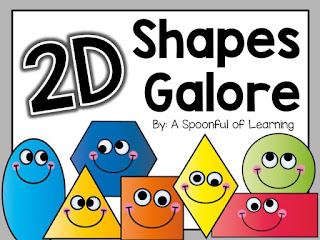 MORE 2D Shapes... and a FREEBIE!!!
