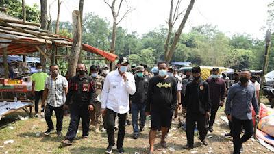 Intruksi Gubernur Banten, Forkopimda Kabupaten Tangerang Tutup Objek Wisata