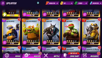 Pada malam kali ini aku akan membagikan kepada sobat semuanya sebuah game android yang b Unduh Game Ninja Turtles Legends v1.5.6 Mod Apk (Unlimited Money)