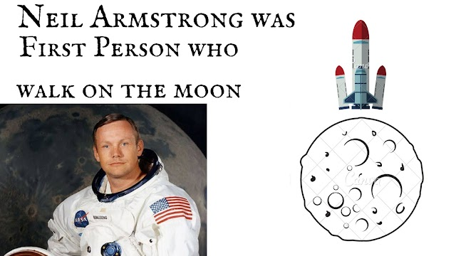 Neil Armstrong | First Person to walk on the moon