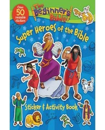 Heroes of the bible Sticker activity book cover