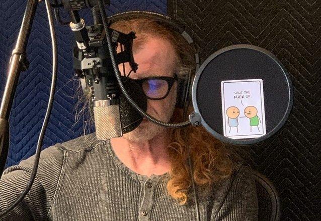 """Dave Mustaine sobre el nuevo álbum: """"Me queda una sola canción por cantar"""""""