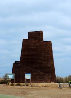 Mirador el Zigurat. Delta del Ebro