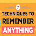 7 Ways to Ensure You Never Forget Anything! #infographic