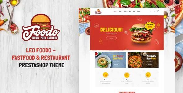 Best Fastfood & Restaurant Prestashop Theme
