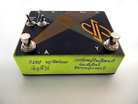 dpFX Isolated ABY splitter, active, buffered, with audio transformer