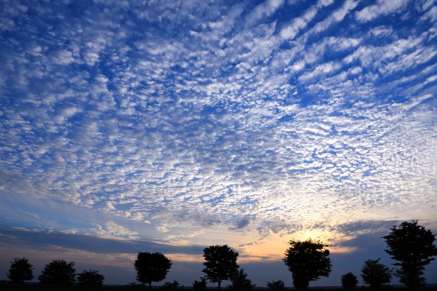 大乗寺丘陵公園の空