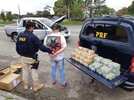 PRF apreende 2,5 milhões de reais na Régis Bittencourt em Registro-SP