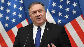Michael Richard Pompeo: an American politician, diplomat, businessman, and attorney who, since April 2018, has serving as United States Secretary of State.