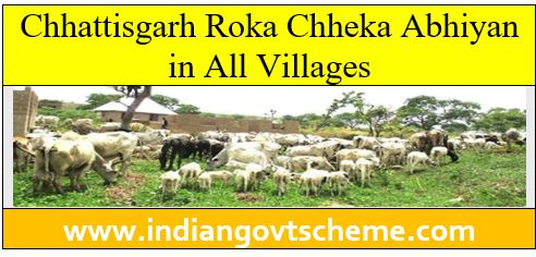 Chhattisgarh Roka Chheka Abhiyan in All Villages