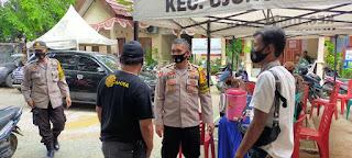Wujudkan Kamtibmas Kondusif, Kabag Ops Polres Pelabuhan Rutin Cek Pengamanan TPS