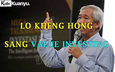 Cara Lo Kheng Hong memilih saham salah harga