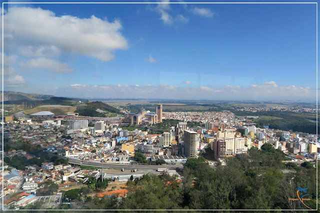 Vista do Mirante do Cruzeiro em Aparecida do Norte