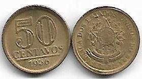 50 centavos, 1956