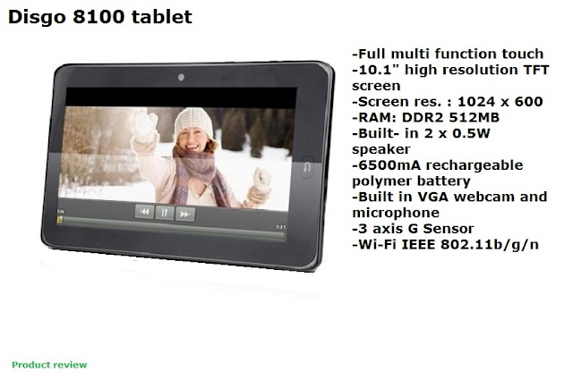 Disgo 8100 tablet review