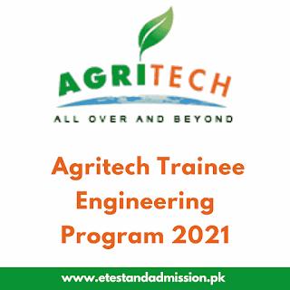 Agritech Trainee Engineering Program 2021