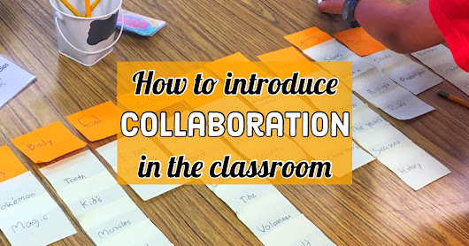 How to introduce collaboration to your elementary students