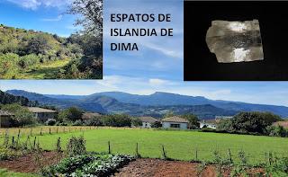Ruta a la mina de Espato de Islandia de Dima