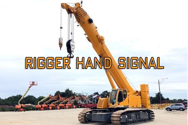 Rigger Crane Hand Signal