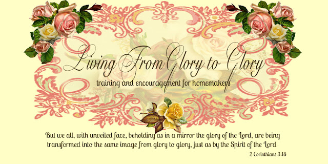 A New Thing Can Be A Good Thing, Living From Glory To Glory Blog