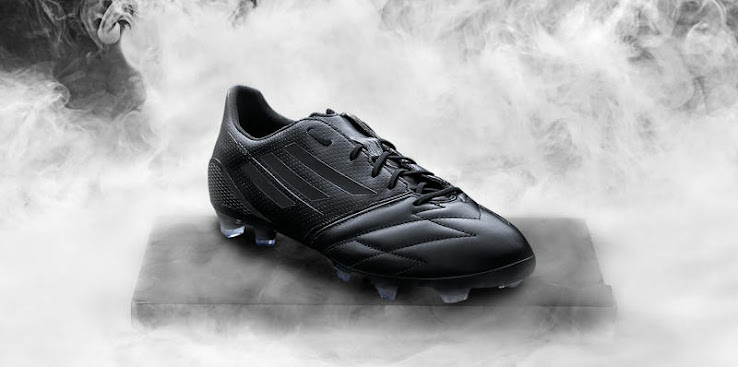 ff4188c7b79c Adidas Adizero F50 Leather Blackout 2014 Boot Released - Footy Headlines