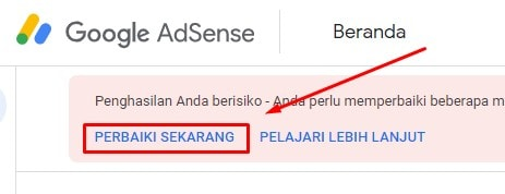 Memperbaiki masalah ads.txt di Google AdSense