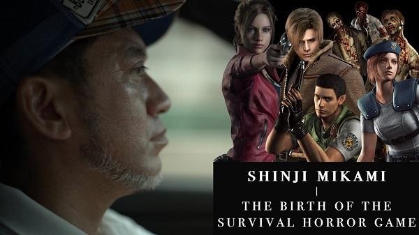 بمناسبة مرور 30 عام عن دخوله عالم صناعة الألعاب الكشف عن فيلم وثائقي لمبتكر سلسلة Resident Evil السيد Shinji Mikami