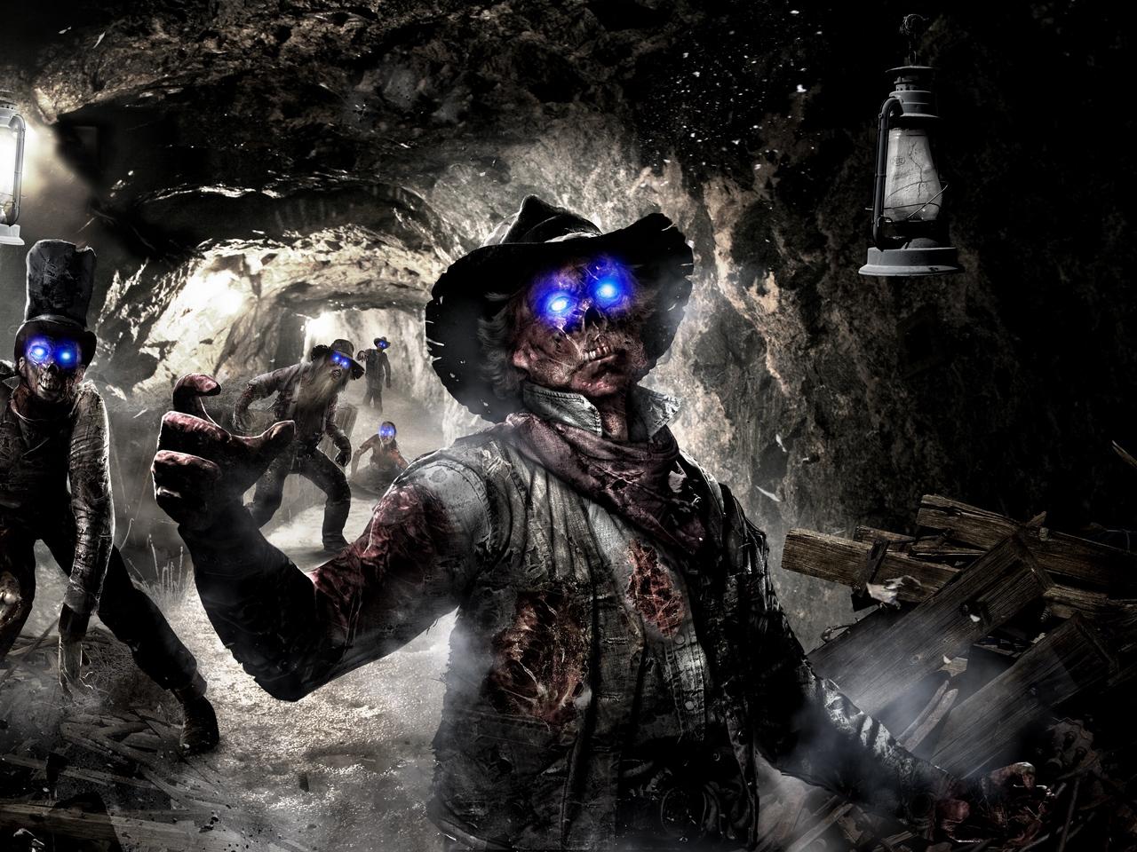 call of duty, black ops 2, art, zombie wallpaper,