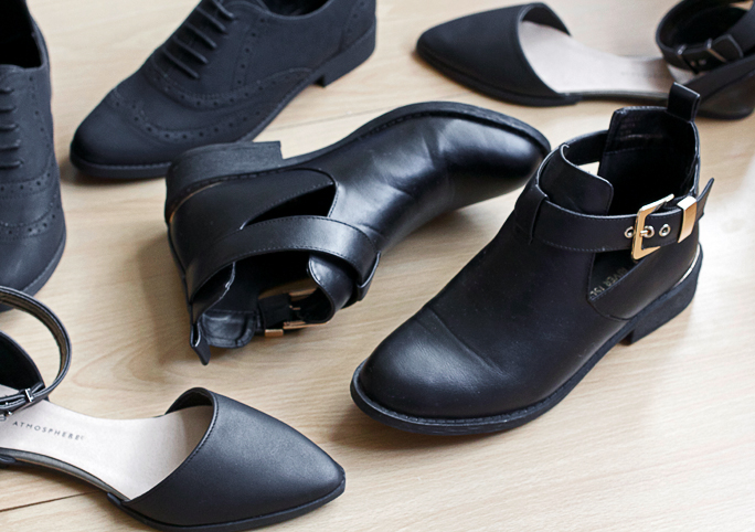 Black Shoe Haul | Autumn 2014