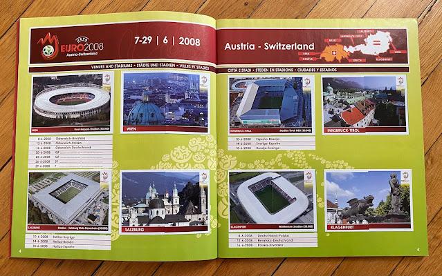 Stadi Panini Austria e Svizzera 2008