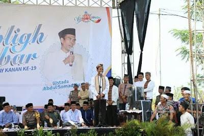Ustad Abdul Somad Meriahkan Tabligh Akbar HUT Kabupaten Way Kanan ke-19
