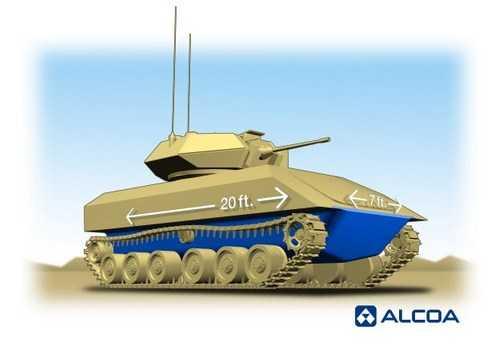 Alcoa Mengembangkan Solusi Inovatif Cerdas Untuk Kendaraan Angkatan Darat US