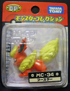 Flareon figure renewal version Takara Tomy Monster Collection MC series