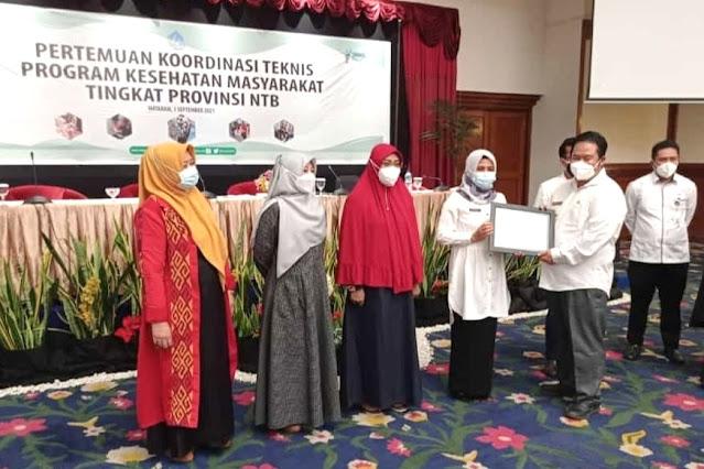 Posyandu Kelurga Lombok Timur raih penghargaan