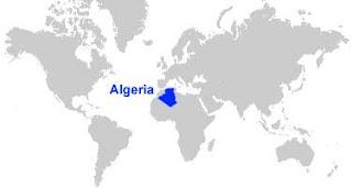 image: Algeria Map Location