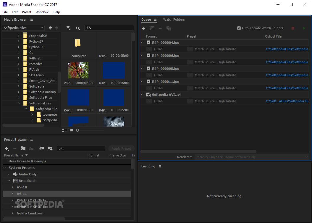 Adobe Media Encoder 2020 14.2.0.45