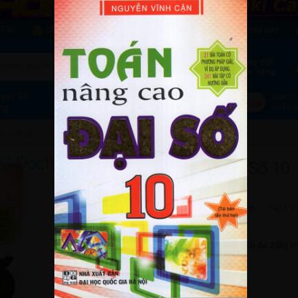 Toán Nâng Cao Đại Số 10 ebook PDF-EPUB-AWZ3-PRC-MOBI