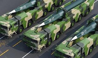 Gawat! Tiongkok Sudah Kerahkan Rudal Hipersonik Dongfeng-17 dan Pesawat Siluman J-20