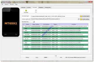 sp flahstool menampilkan semua file yang sudah di load