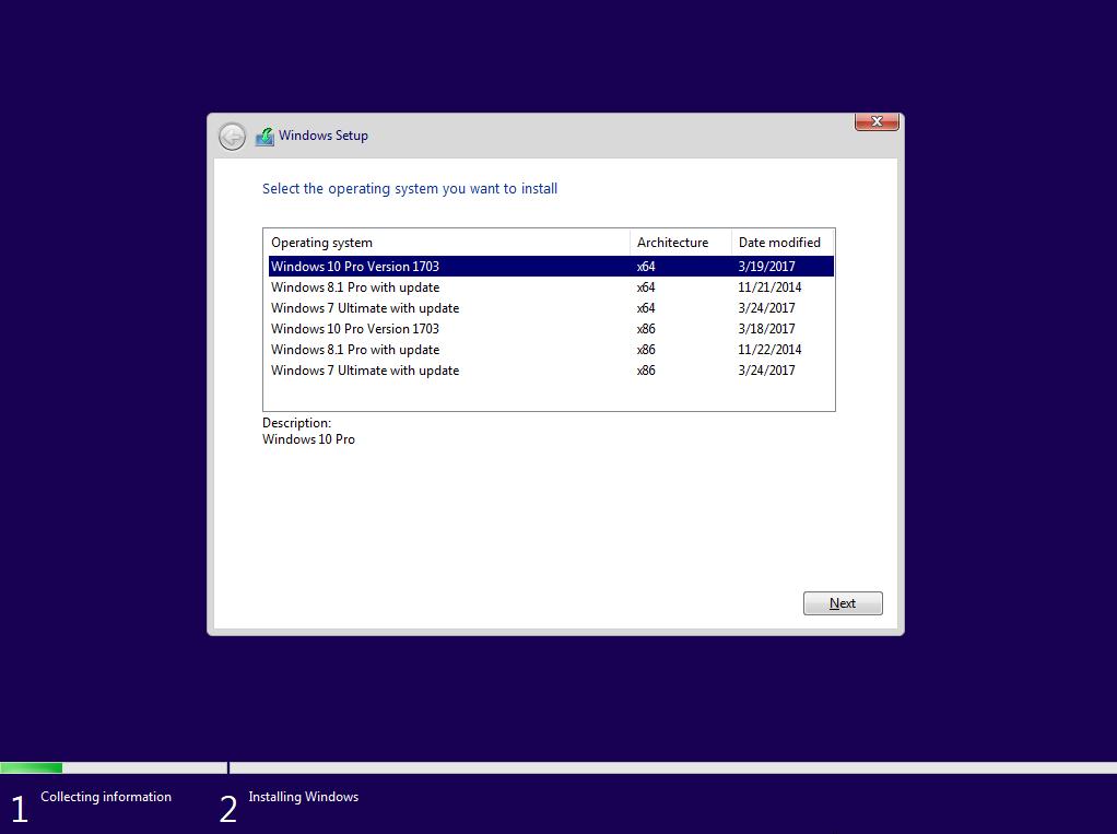 Windows 7,8.1,10 AIO 6 trong 1 tích hợp update mới nhất tháng 3 2017