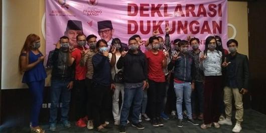 Komunitas LGBT Deklarasi Dukung Prabowo-Sandi karena Kecewa ke Jokowi