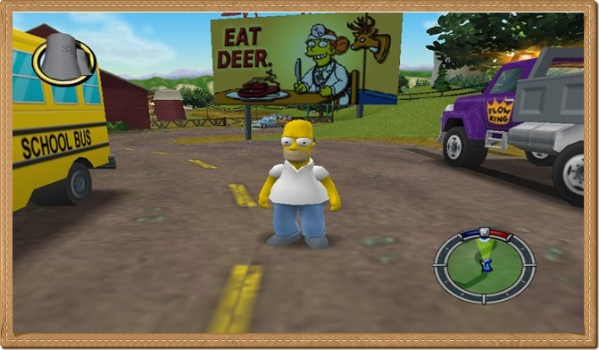 The Simpsons Hit and Run PC Gameplay