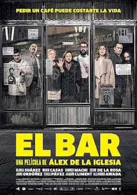 Cartel oficial español: El bar (2016)