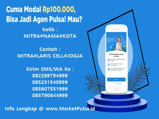 Ayo Daftar Menjadi Agen Pulsa Elektrik Murah All Operator Bersama MarketPulsa.id CV Market Cipta Payment